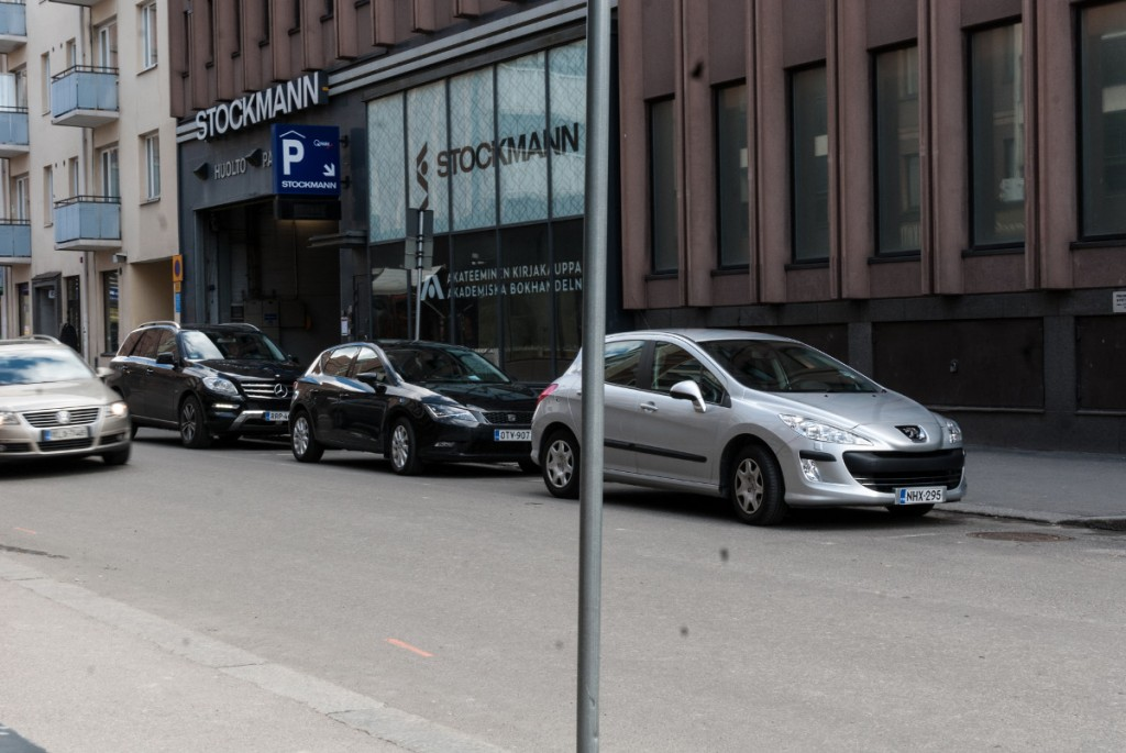 Kaupungin liikennesuunnittelijoiden esityksen mukainen näkymä pyöräilijän perspektiivistä.